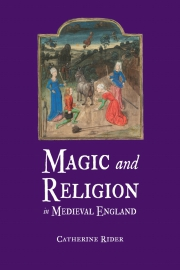 Jacket Image For Magic and Religion in Medieval England