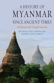 Jacket Image For A History of Myanmar since Ancient Times