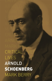 Jacket Image For Arnold Schoenberg