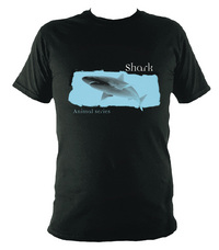 Jacket Image For Animal t-shirt - Shark